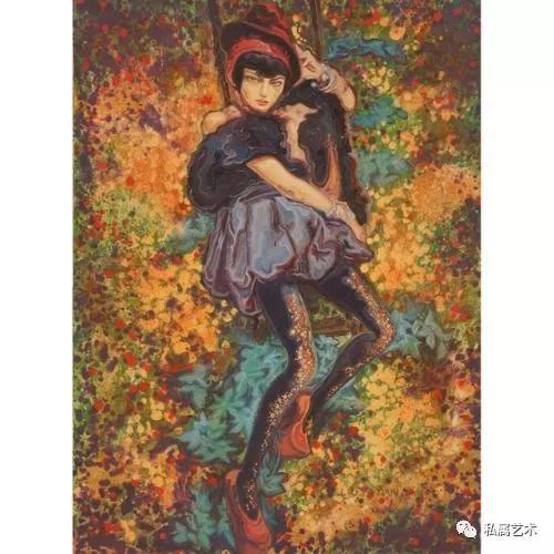 刘雅丹作品《她在丛林中》