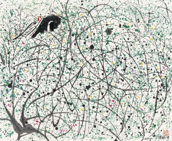 展览名称:《风筝不断线——纪念吴冠中诞辰一百周年作品展》