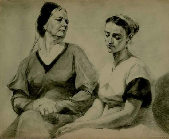 伍必端 婆媳之间 1957年