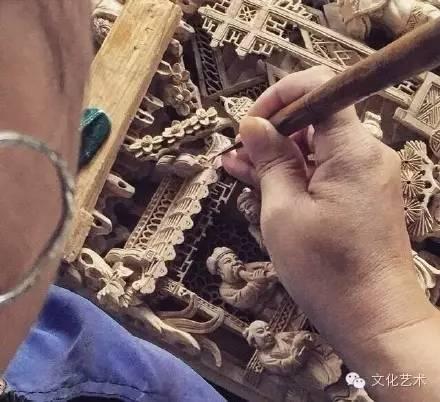 潮州木雕:精湛的民间工艺
