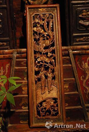 古代家居造诣 明清代人物花板