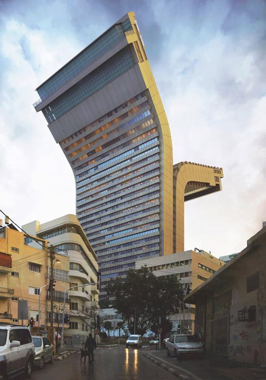 城市扭曲专家:艺术家Enrich让人惊掉下巴的建筑