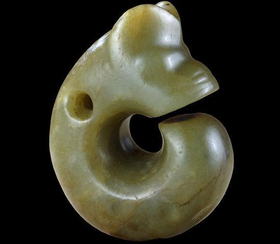 玉猪龙 新石器时代 红山文化 约公元前3500年