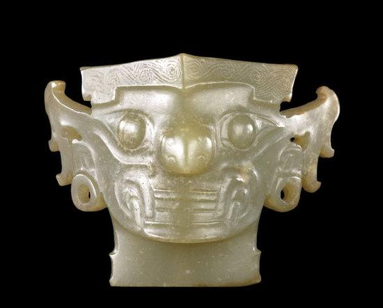 玉面 新石器时期 约公元前2000年陶瓷罗汉 辽代 (公元907至1125年)出自中国河北