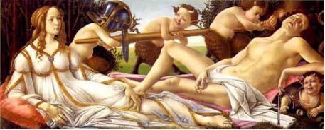 波提切利《维纳斯与战神》,1444/45-1510