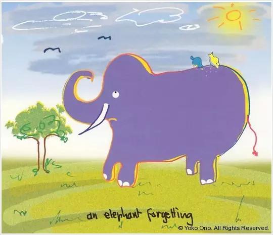 幼儿园画画大象