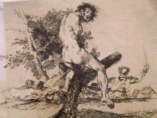 选自《战争的灾难》1810-1820,蚀刻画