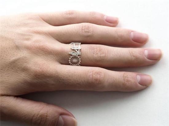 指尖的天际线:手工戒指之美