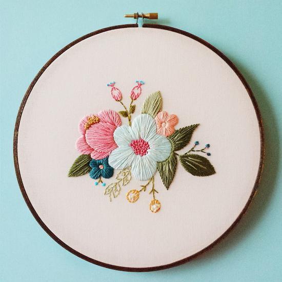 Cinder & Honey:大自然之美,精緻刺繡把春天留下來 3