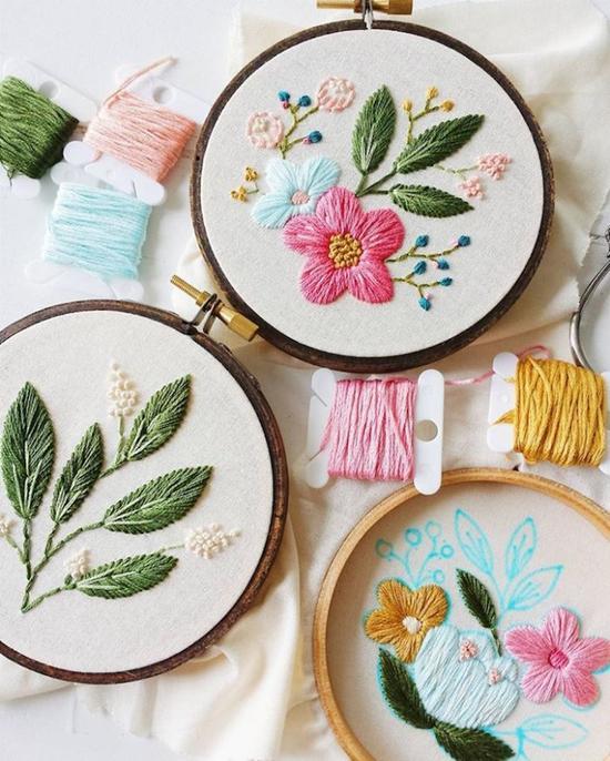 Cinder & Honey:大自然之美,精緻刺繡把春天留下來 9