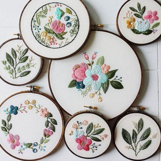 Cinder & Honey:大自然之美,精緻刺繡把春天留下來 11