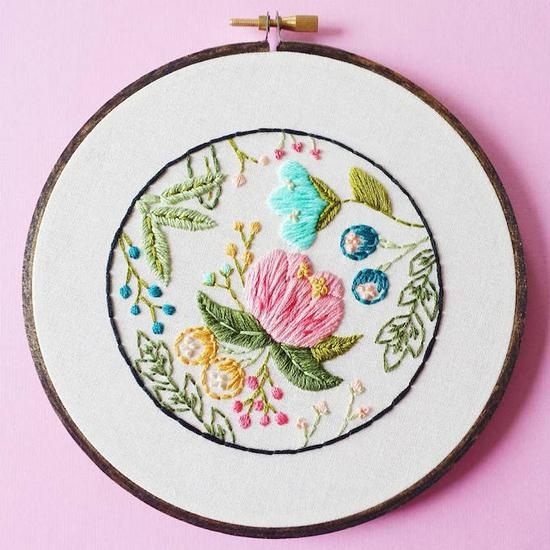 Cinder & Honey:大自然之美,精緻刺繡把春天留下來 4