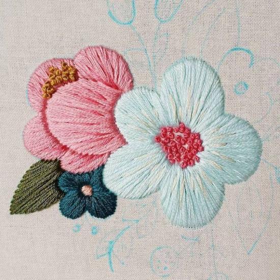 Cinder & Honey:大自然之美,精緻刺繡把春天留下來 10