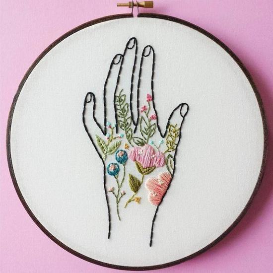 Cinder & Honey:大自然之美,精緻刺繡把春天留下來 6