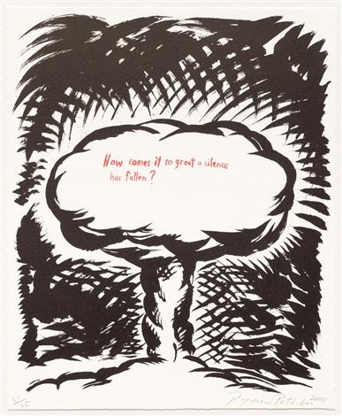 raymond-pettibon-untitled-how-comes-it-so-great-a-silence...-from-plots-on-loan-i