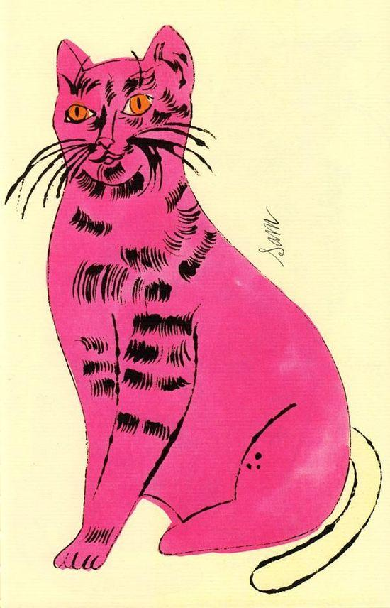 猫 拼贴画