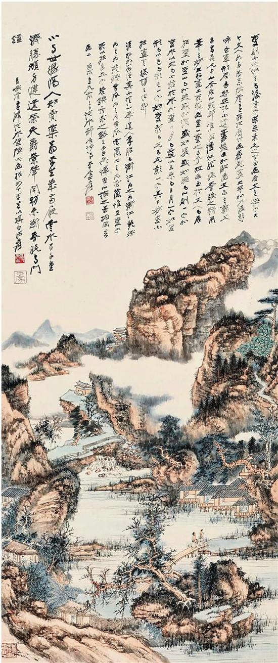 张大千《桃源图》领衔香港苏富比春拍