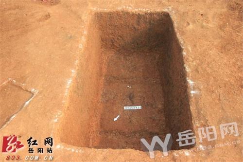 岳阳汨罗发现35座东周古墓群 已出土文物十余件