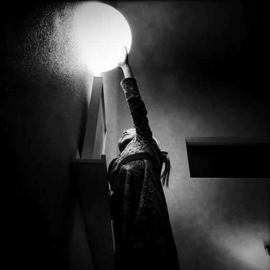 Gwen Coyne黑白摄影作品:女儿