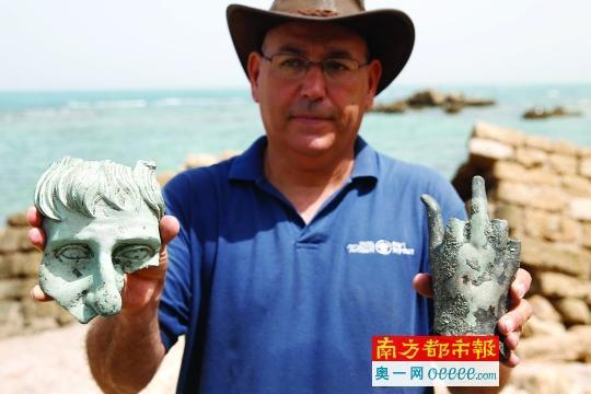潜水者发现沉船宝藏 系1600年前古罗马时期(图)