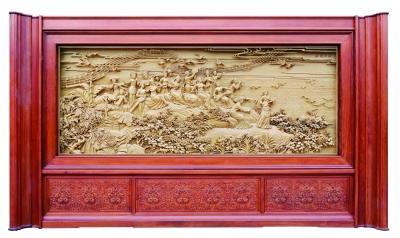 东阳木雕——春天放歌-百日整治 东阳红木家具行业再放大招