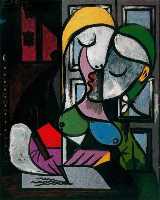 毕加索 Picasso - Woman Writing  毕加索一生遇到6位女性,这些女人对毕加索的绘画风格有着重要影响。本次展览将展出部分毕加索为她们创作的作品,年代跨越1900年代至1970年代,呈现6位女性不同的个性与经历,以及与毕加索在绘画和生活中的关系。