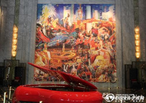 上海万达瑞华酒店石齐《锦绣东方》作品位置:入门大厅