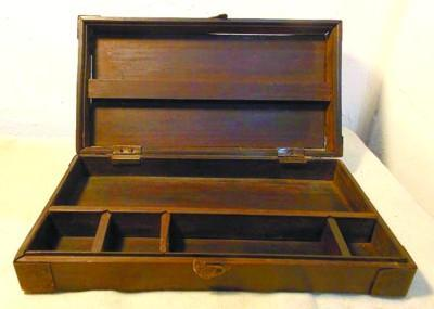 红木文具盒