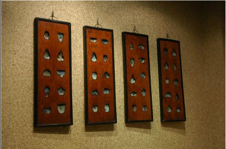 马未都观复博物馆藏钧瓷挂屏