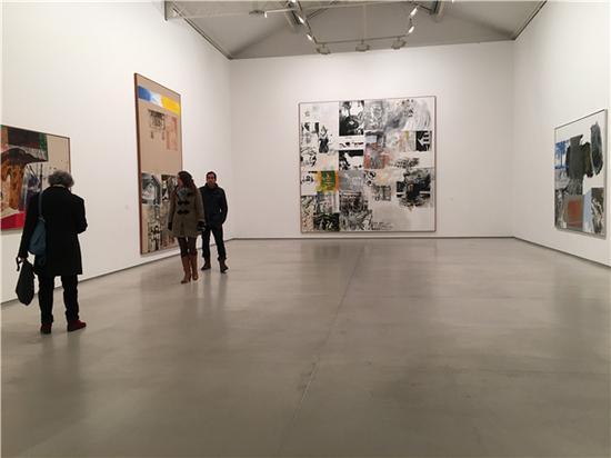 巴黎达泰斯·洛巴克画廊《抢救系列》展览现场。图片来源:马丽亚