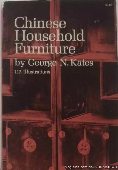 凯特著《中国日用家具》