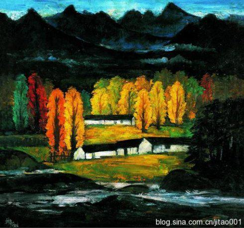 林风眠油画与水墨画作品的价格比较