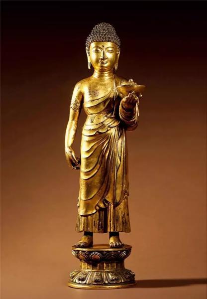 11 至 12 世纪 托宝钵释迦牟尼佛像 成交价 2185 万元