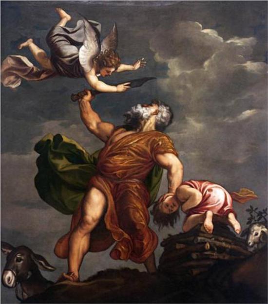 《以撒的献祭》 提香 1542-44年