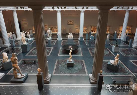 大都会博物馆罗马厅