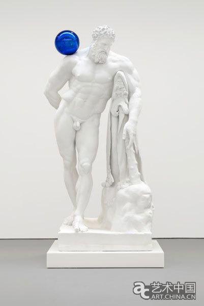 杰夫昆斯《凝视球》系列作品之一