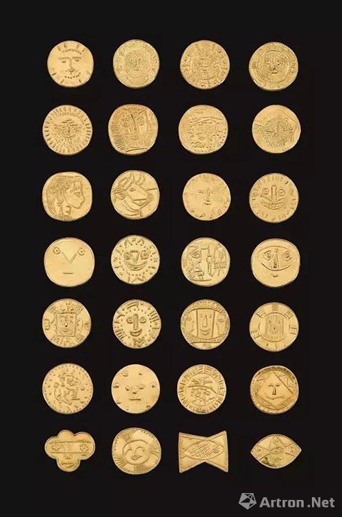 巴布罗·毕加索《二十八件金奖章》 成交价:HK$4,900,000