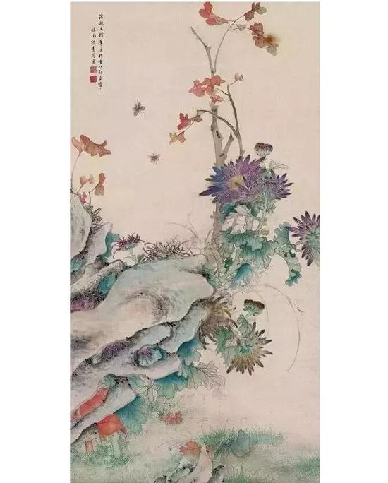 """慈禧的代笔画家不少,其中最有名的一个""""枪手"""",名缪嘉惠,字素筠,云南昆明人"""