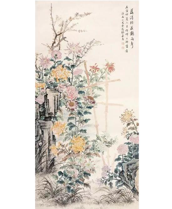 好在当时缪嘉惠的名气还算不小,所以当她一回到故乡,一时间门庭若市,求买字画的人络绎不绝。