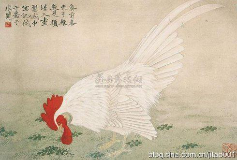 2007春拍香港苏富比于非闇《大吉》,41.2×60.8cm,成交于31.2万港元