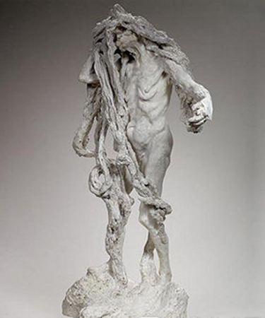 卡米耶-克洛岱尔《克洛索》,1893年,石膏,巴黎罗丹美术馆藏