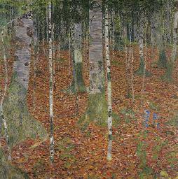 2006年11月纽约佳士得克林姆特《桦树林》,成交于4034万美元