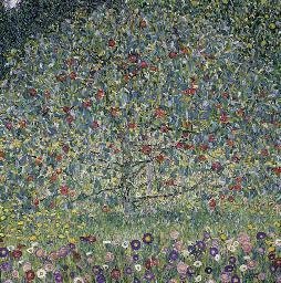 2006年11月纽约佳士得克林姆特《苹果树》,成交于3306万美元