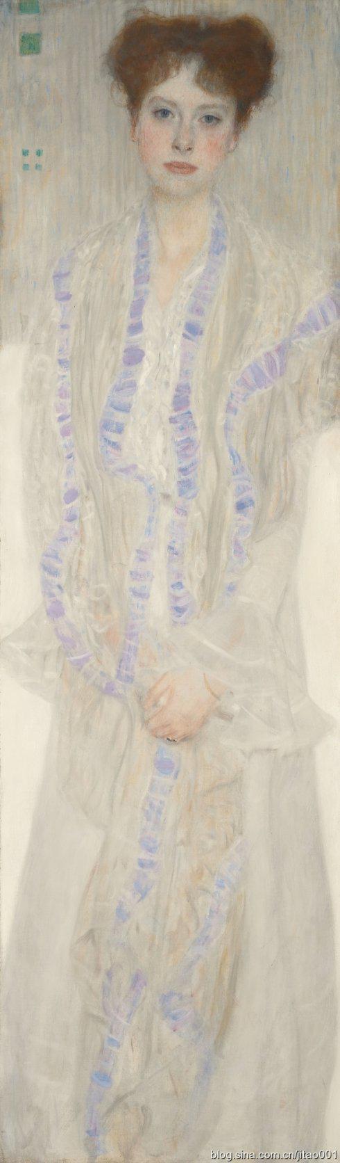 2015年6月伦敦蘇富比克林姆特《维也纳名医的19岁女儿肖像》,成交于 2479万英镑