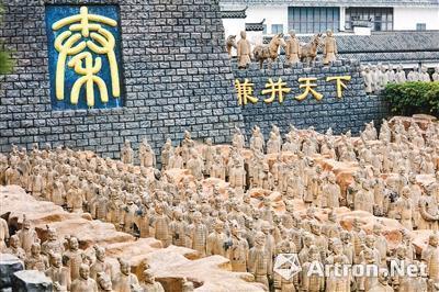 安徽山寨兵马俑坑(图片来源网络)