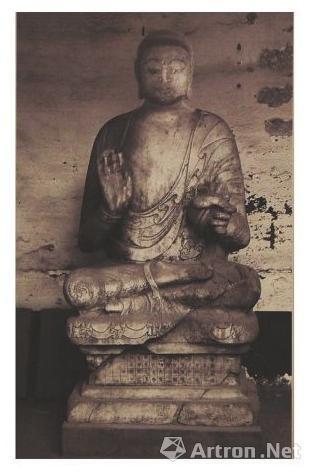 北齐佛像历史照片