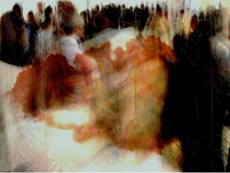 傅文俊数绘抽象摄影作品《远行》