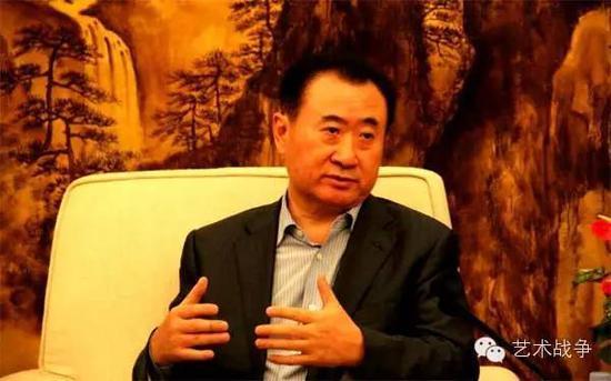 王健林:我的收藏增值1000倍