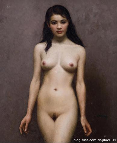 靳尚谊《人体》 64×52cm 2013保利春拍拍出1395万元