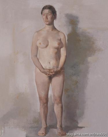 郭润文《人体》 125×91cm 2005秋拍诚轩拍出41.8万元
